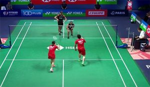 Playing Double In Badminton
