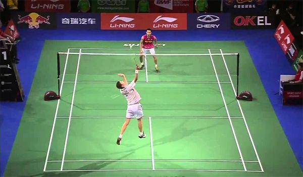 Playing Singles In Badminton